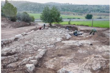 דרך בת 2,000 שנה נחשפה באזור בית-שמש
